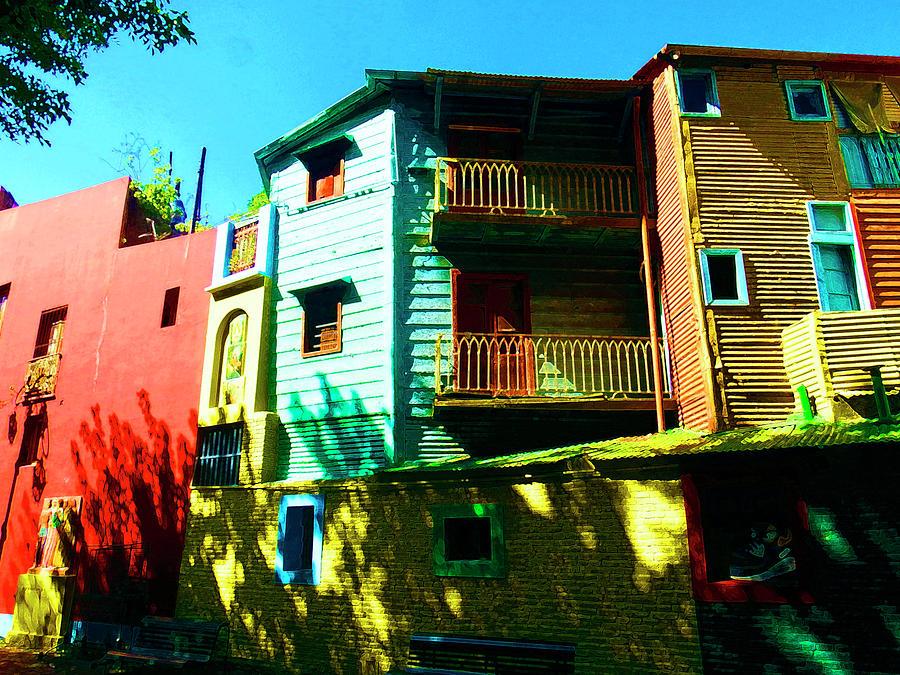 Mellow Yellow, La Boca, Buenos Aires by Kurt Van Wagner