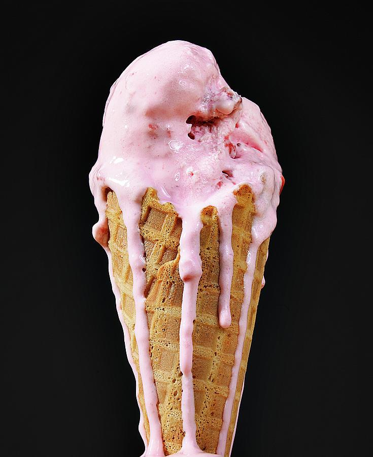 Melting Ice Cream Photograph by Imstepf Studios Llc