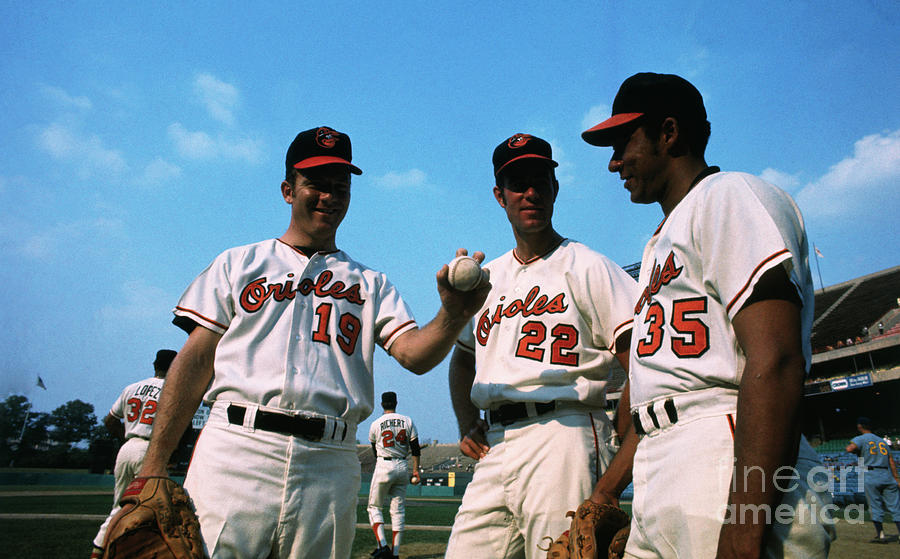 Members Of Baltimore Orioles Team Photograph by Bettmann