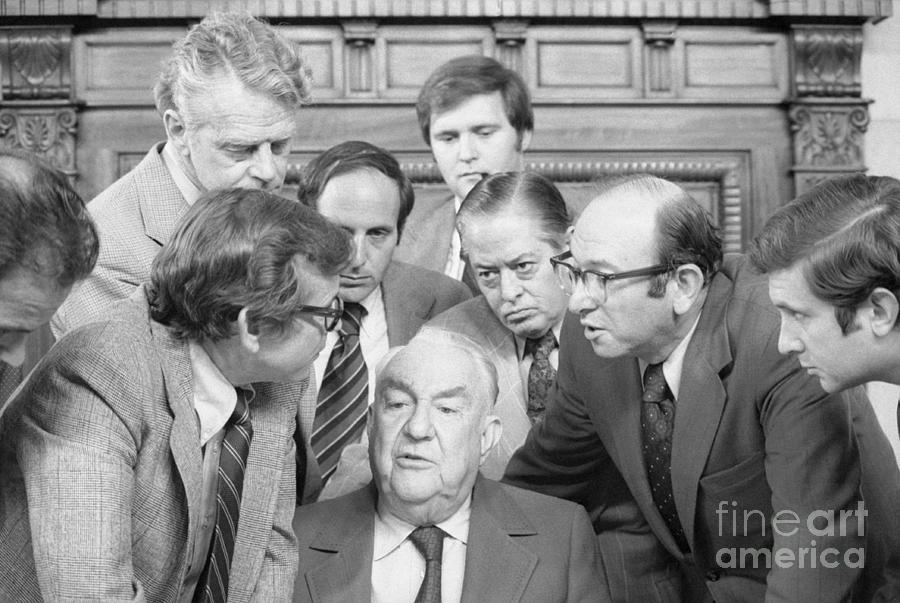 Members Of Watergate Committee Photograph by Bettmann