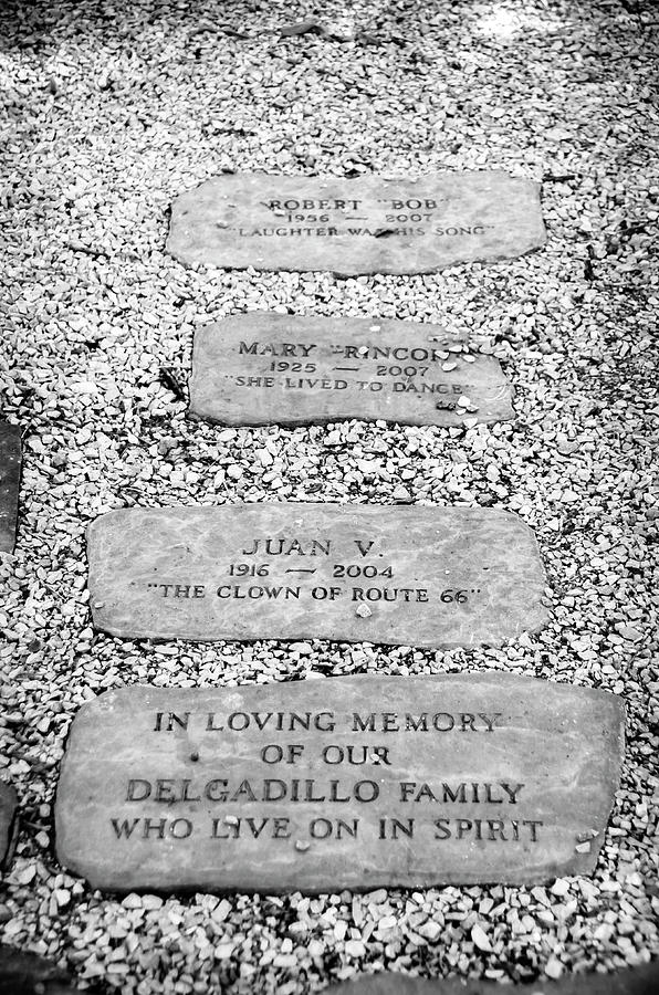 Memorial stones with epitaphs of Delgadillo family by RicardMN Photography