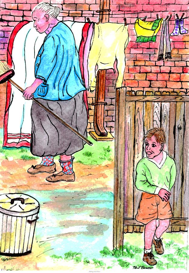Memories From My Childhood - Hiding From Mama by Philip and Robbie Bracco