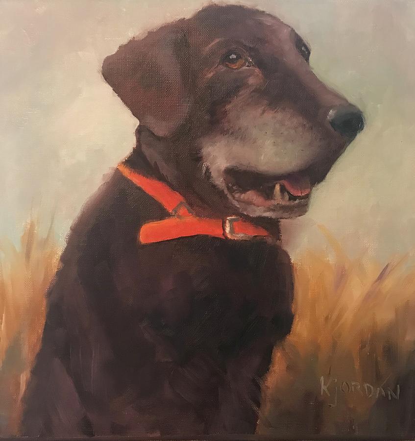 Oil On Canvas Painting - Memories by Karen Jordan