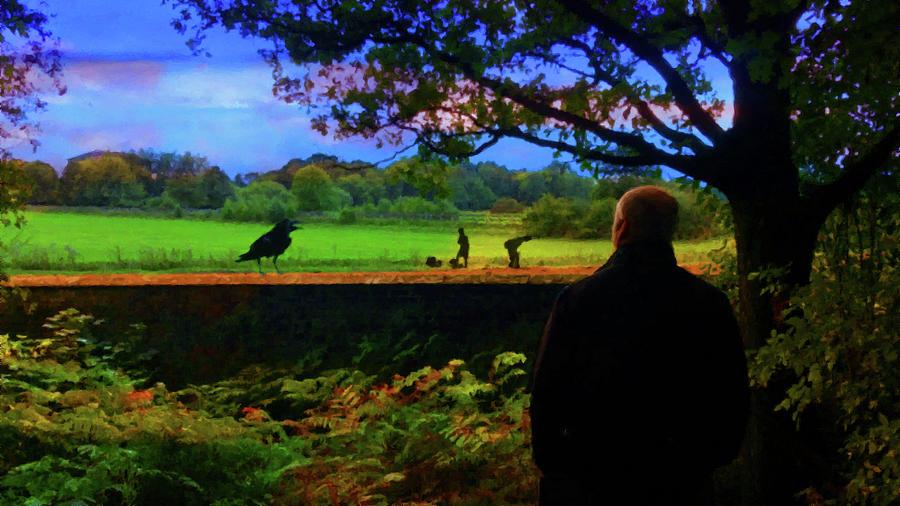 Memories Of Little Bollington Cheshire-northwest England Uk Mixed Media