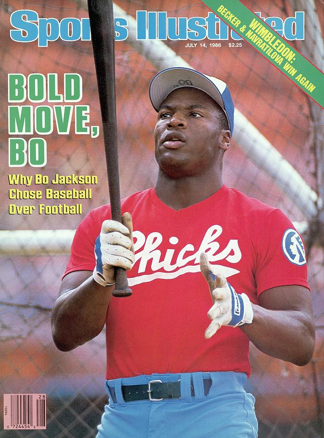 Memphis Chicks Bo Jackson, Class Aa Southern League Sports Illustrated Cover Photograph by Sports Illustrated