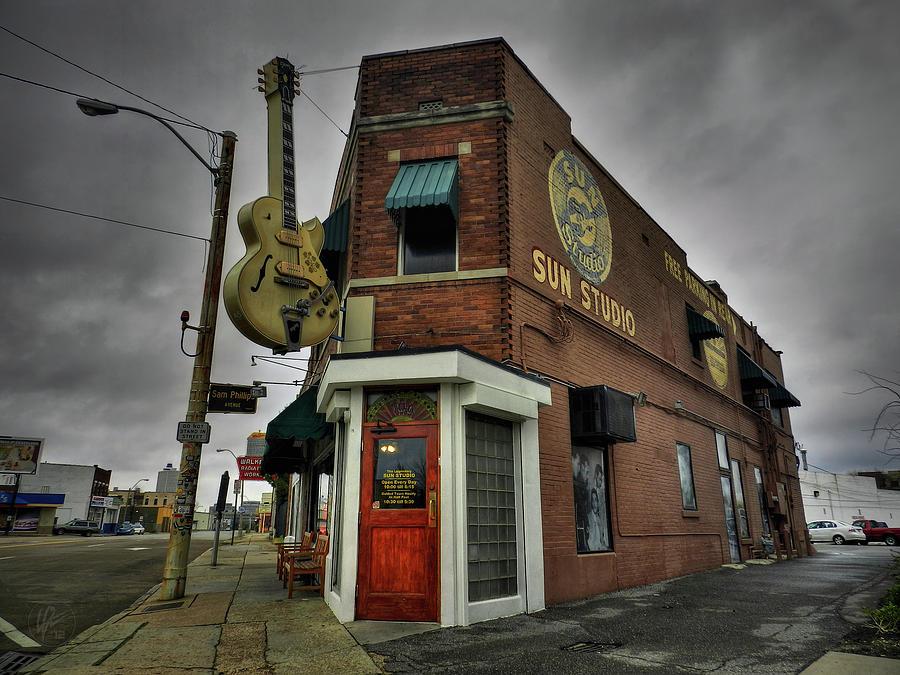 Sun Studio Photograph - Memphis - Sun Studio 004 by Lance Vaughn