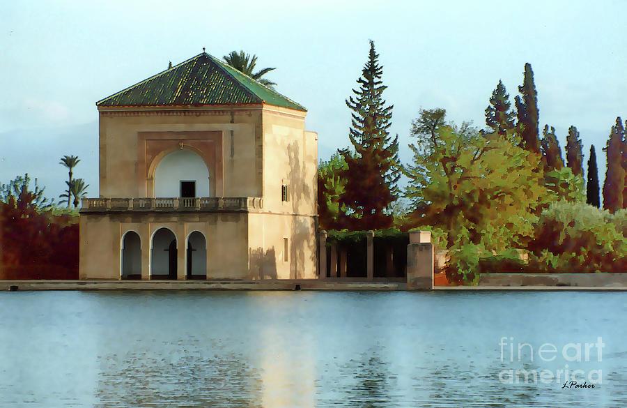 Menara Gardens - Morocco by Linda Parker