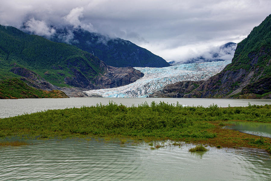 Mendenhal Glacier by Anthony Jones