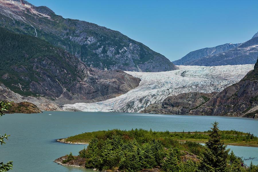 Mendenhall Glacier by Jurgen Lorenzen