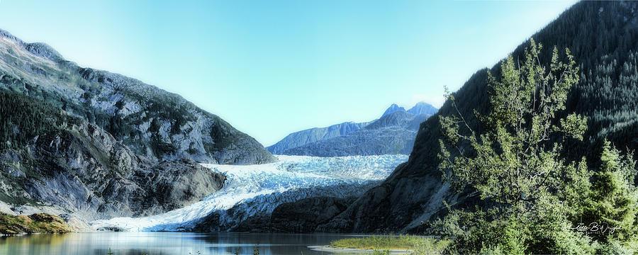 Mendenhall Glacier by Paulette B Wright