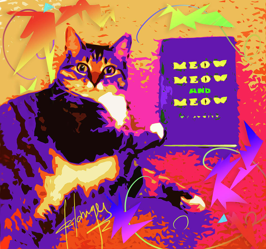 Meow, Meow and Meow by DC Langer