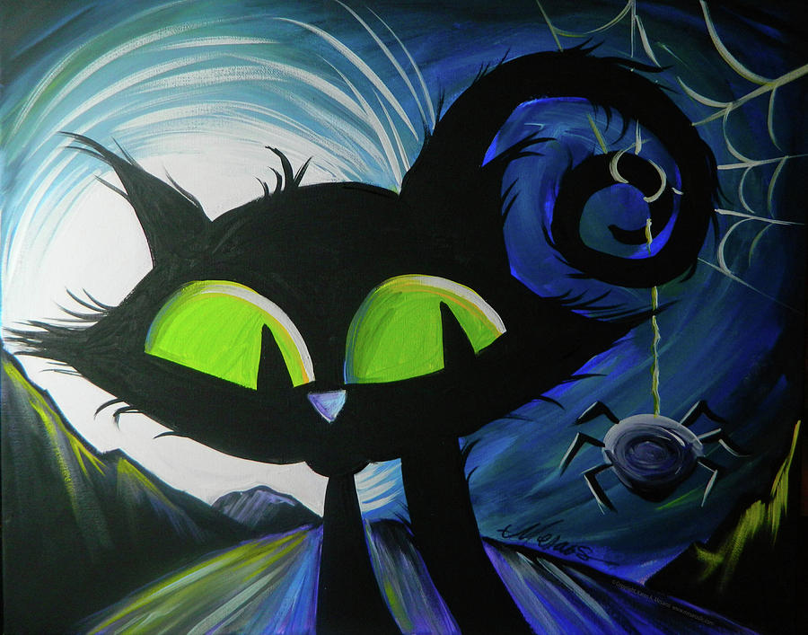 Meow, Meow BOO by Karen Mesaros