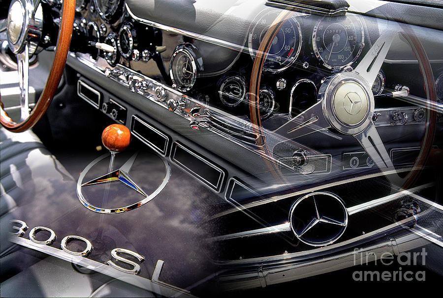 Mercedes Benz 300 SL by Charles Abrams