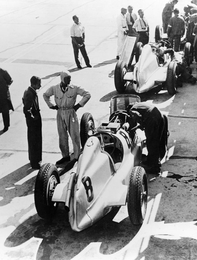 Mercedes-benz Grand Prix Cars, C1934 Photograph by Heritage Images