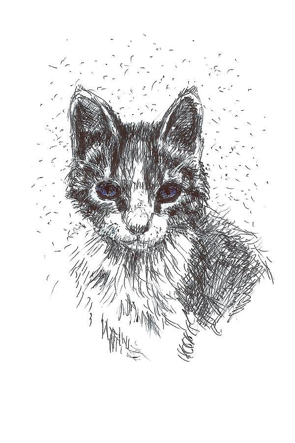 Mercury Cat by Masha Batkova