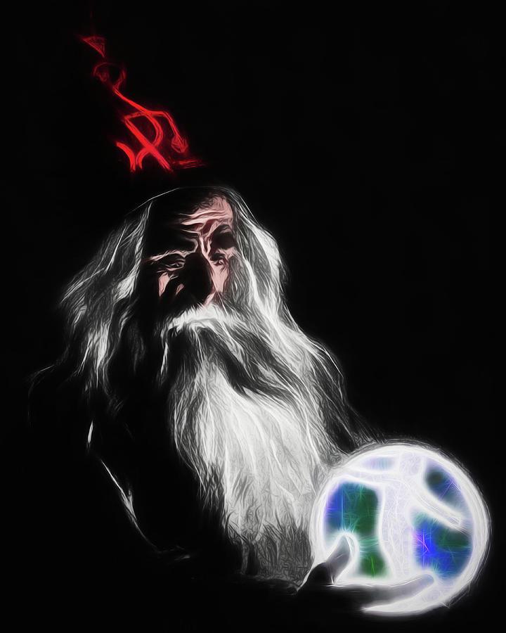 Merlin by John Haldane