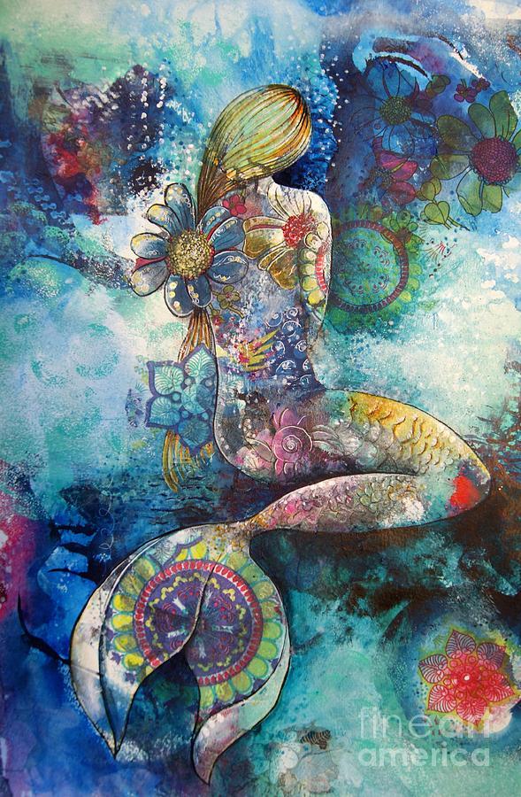 Mermaid 2 by Reina Cottier