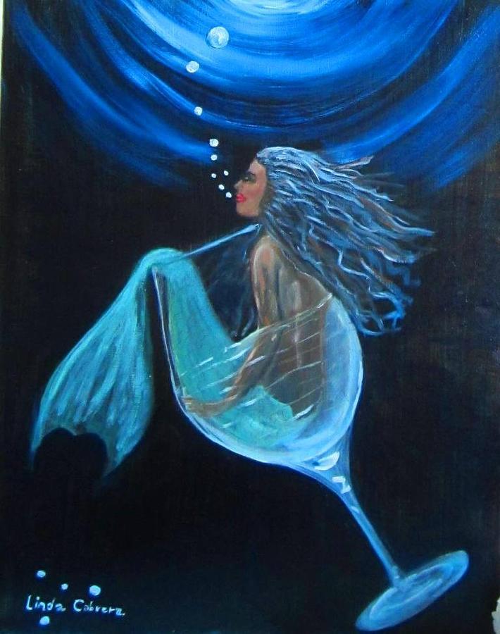 Mermaid Bliss by Linda Cabrera