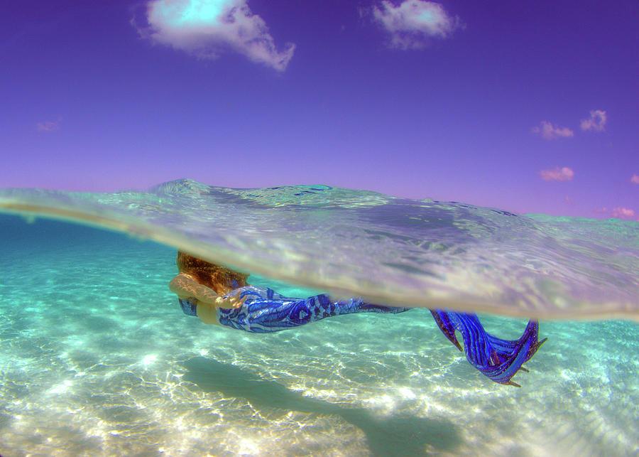 Mermaid Photograph - Mermaid Dreams by Todd Hummel