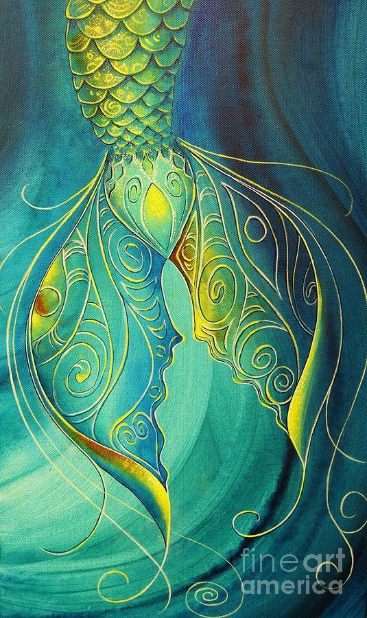 Mermaid Tail  by Reina Cottier