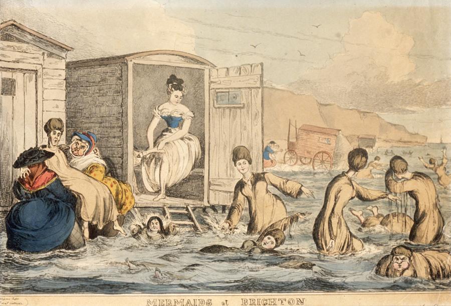 Mermaids At Brighton Photograph by Hulton Archive