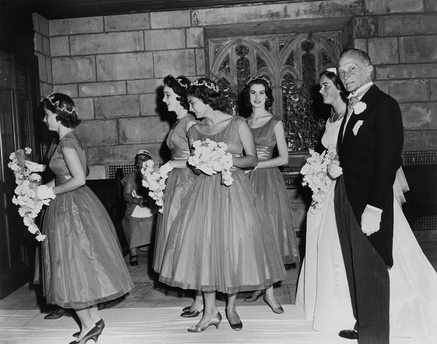 Merrell Wedding Photograph by Bert Morgan