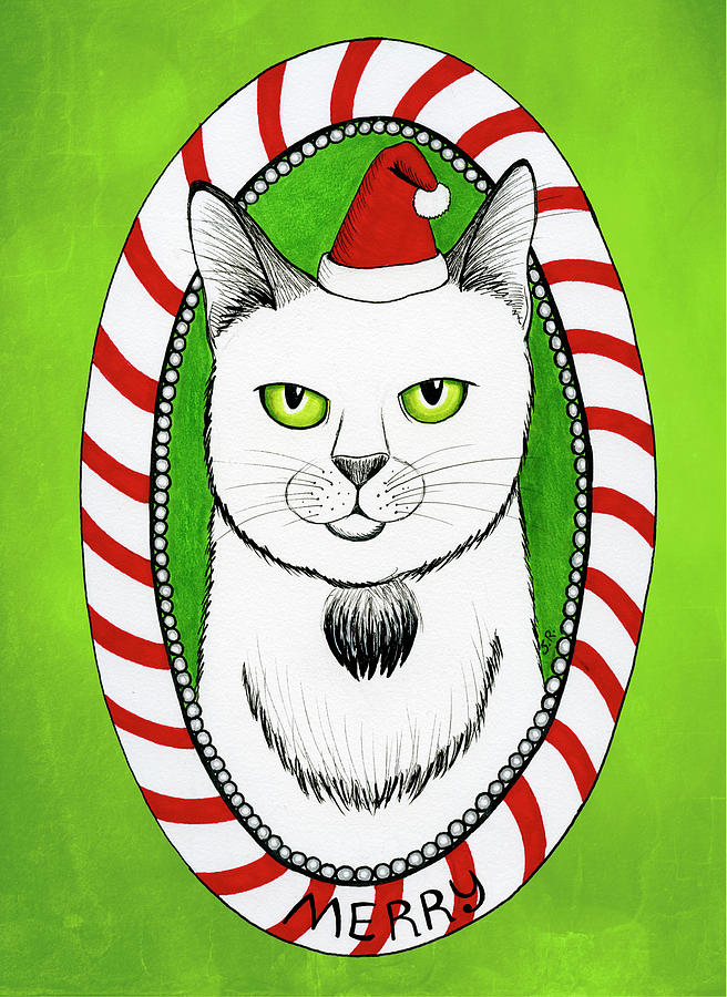 Merry Catmas by Shawna Rowe