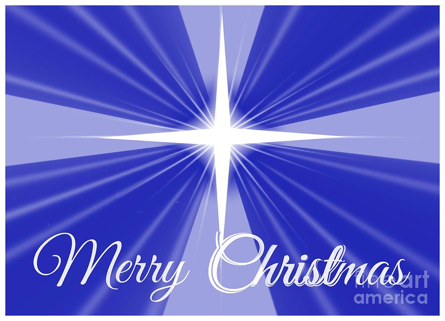 Merry Christ-mas Framed Digital Art