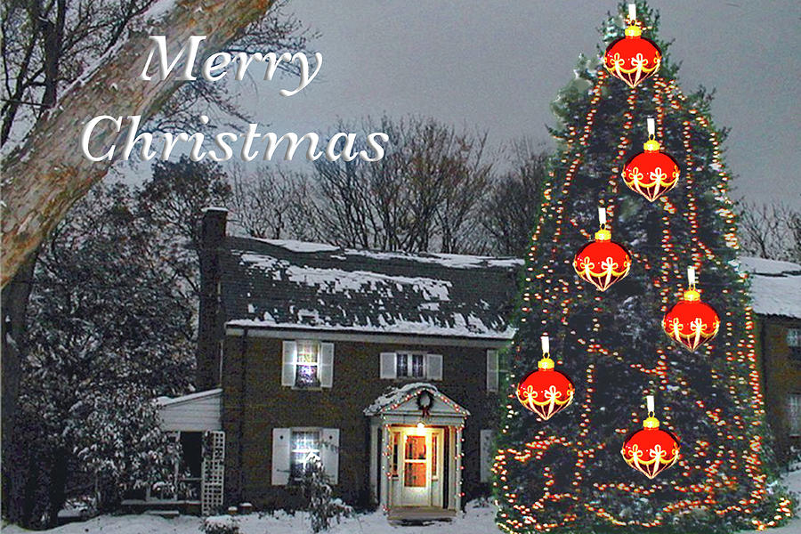 Merry Christmas at Kathy's by MARVIN BOWSER