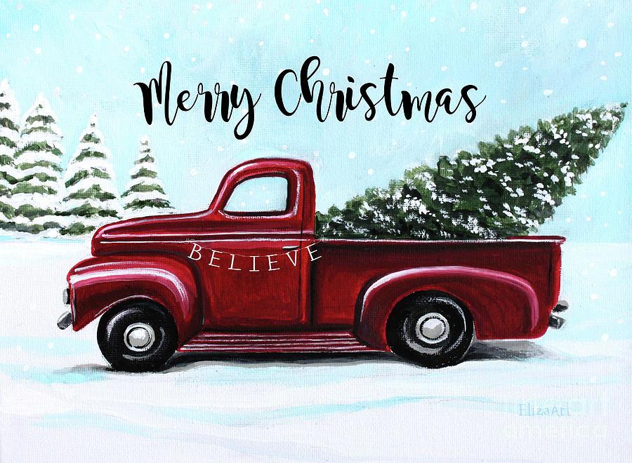 Merry Christmas by Elizabeth Robinette Tyndall