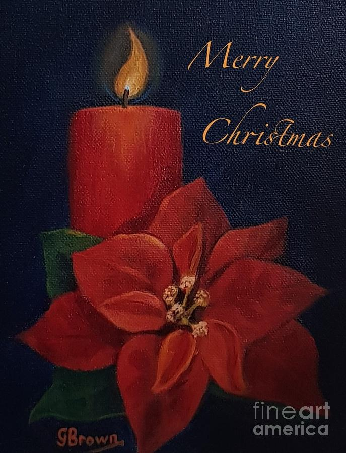 Merry Christmas by Genevieve Brown