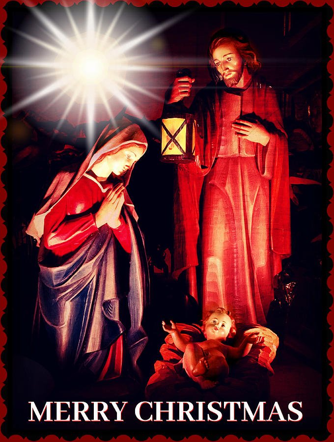 Religious Merry Christmas Images.Merry Christmas Religious Card By Aurelio Zucco