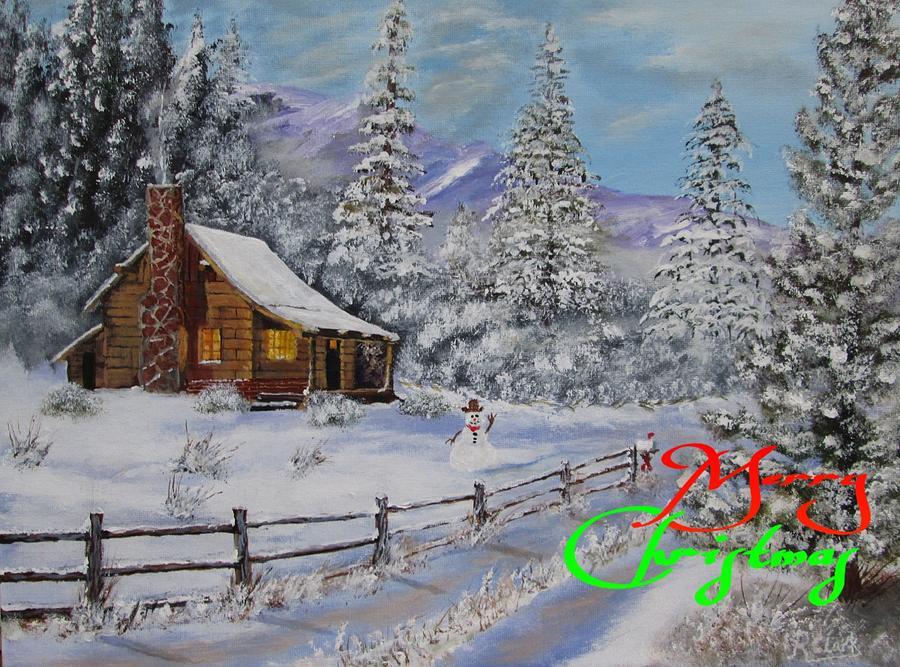 Merry Christmas by Robert Clark