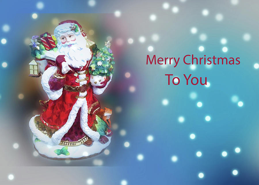 Merry Christmas To You by Jacqueline Sleter
