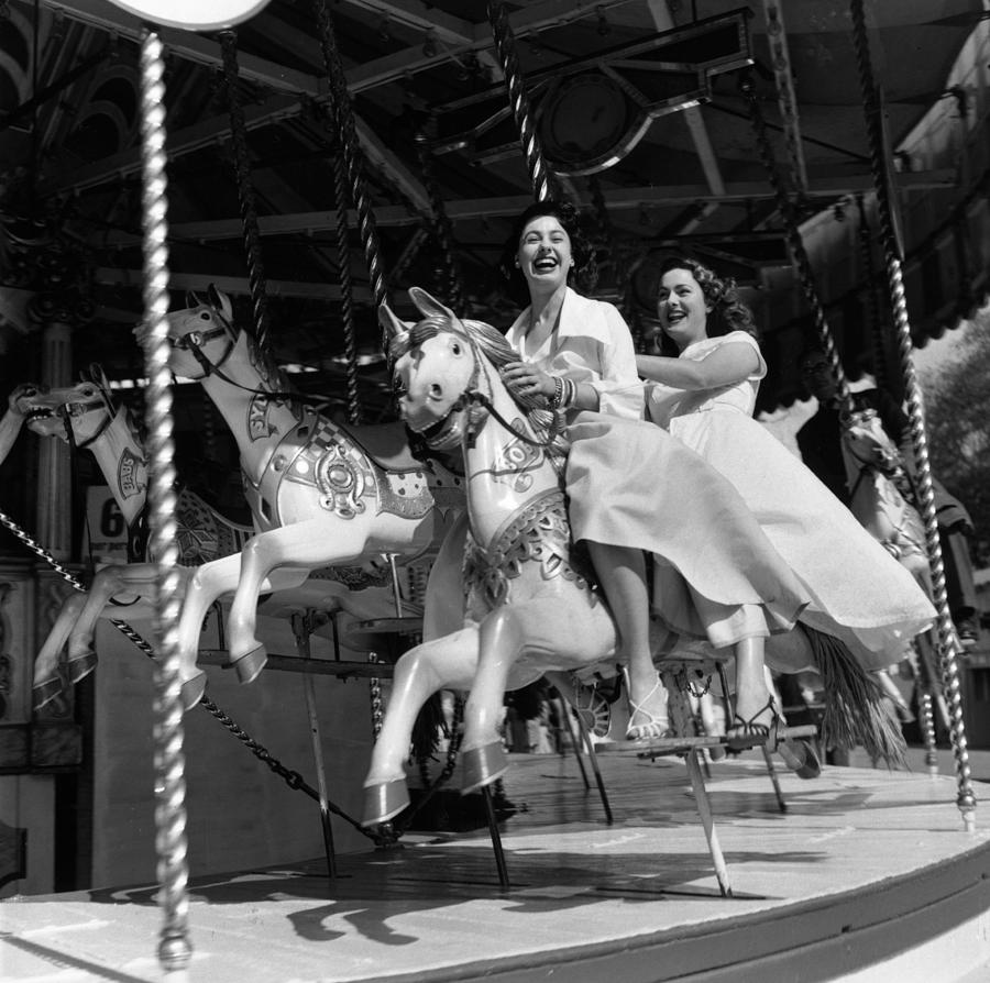 Merry Go Round Photograph by Carl Sutton