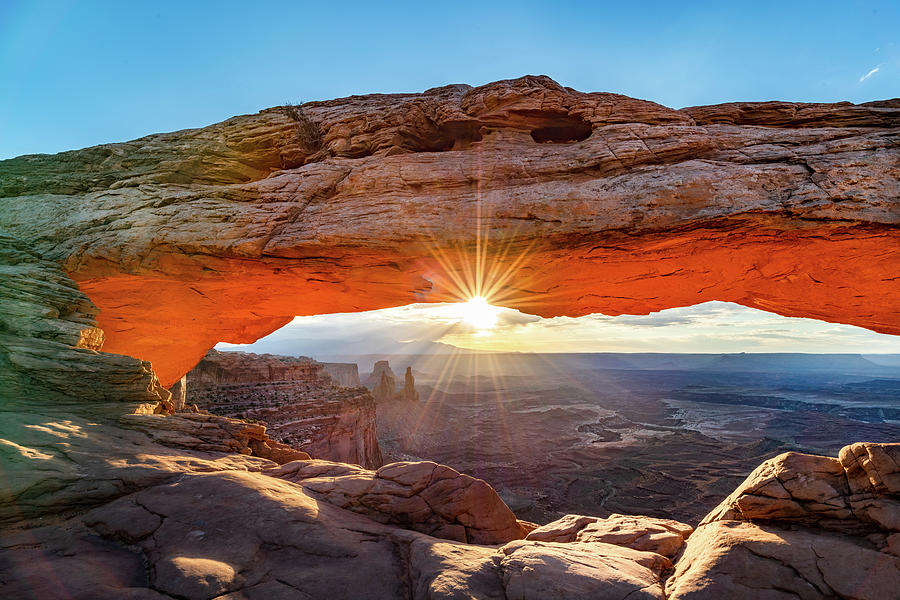Mesa Arch Rim Shot by Paul LeSage