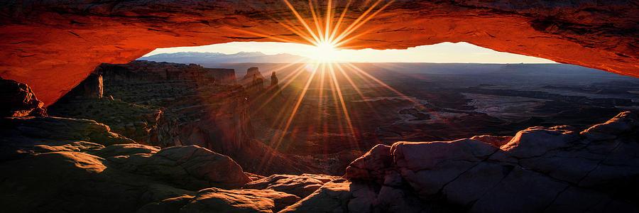 Mesa Glow 3x1 by Chad Dutson