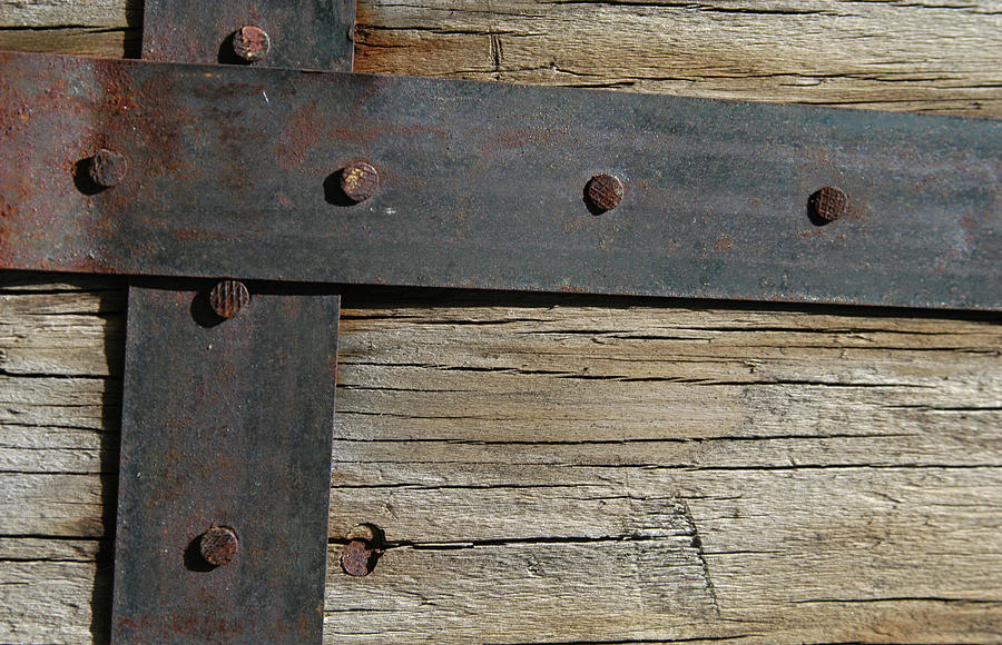 Metal And Wood Photograph by Herlordship