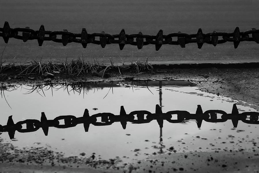 Metal Chain Reflection by Prakash Ghai