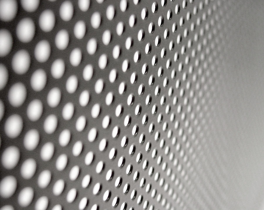 Metal Grid Photograph by Kemie