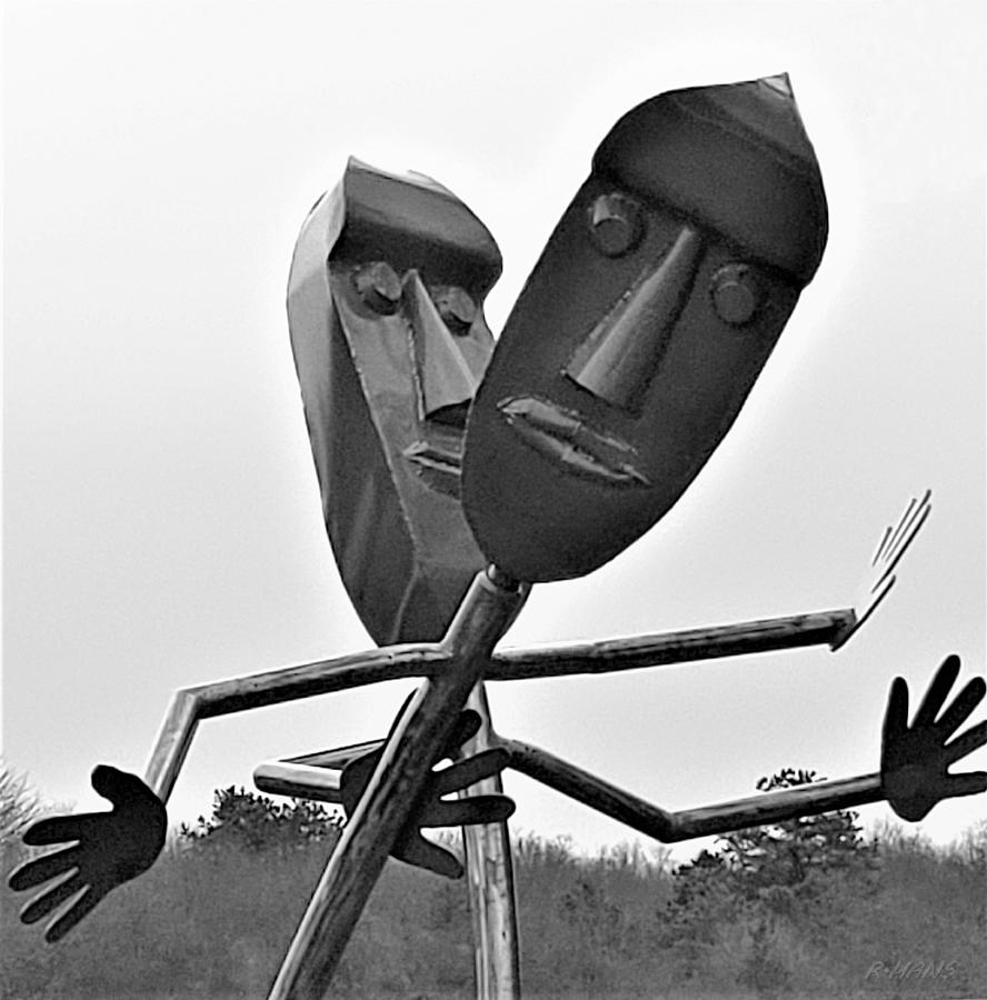 METAL STICK FIGURES by Rob Hans