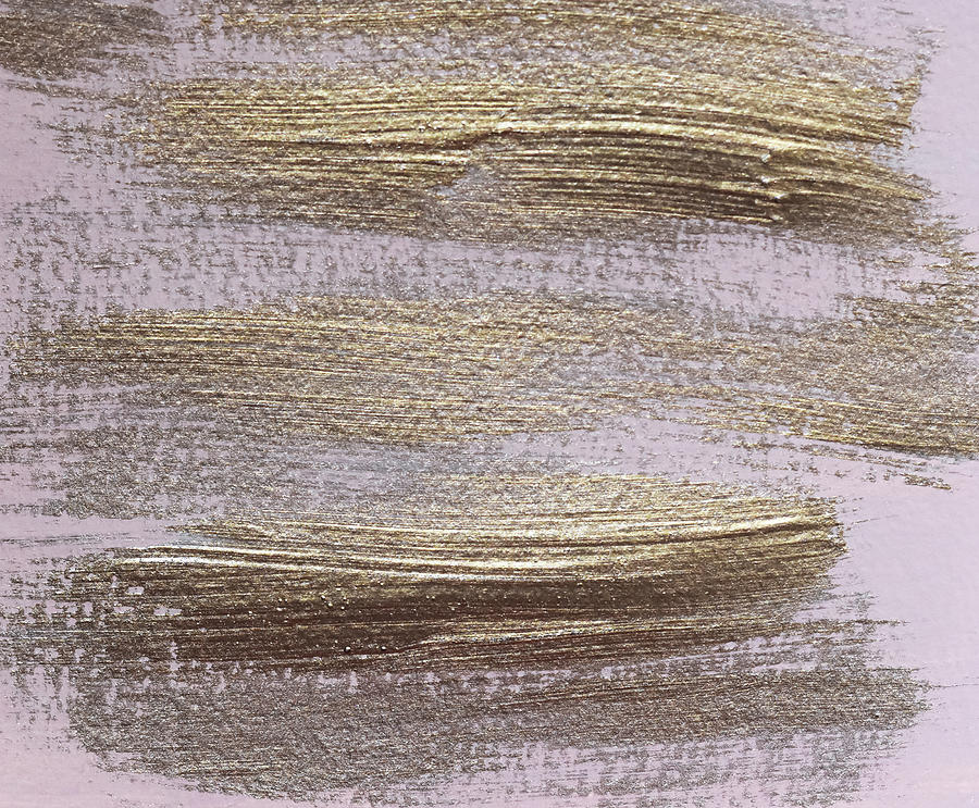 Metallic Abstract Painting 4 Texture Minimalism