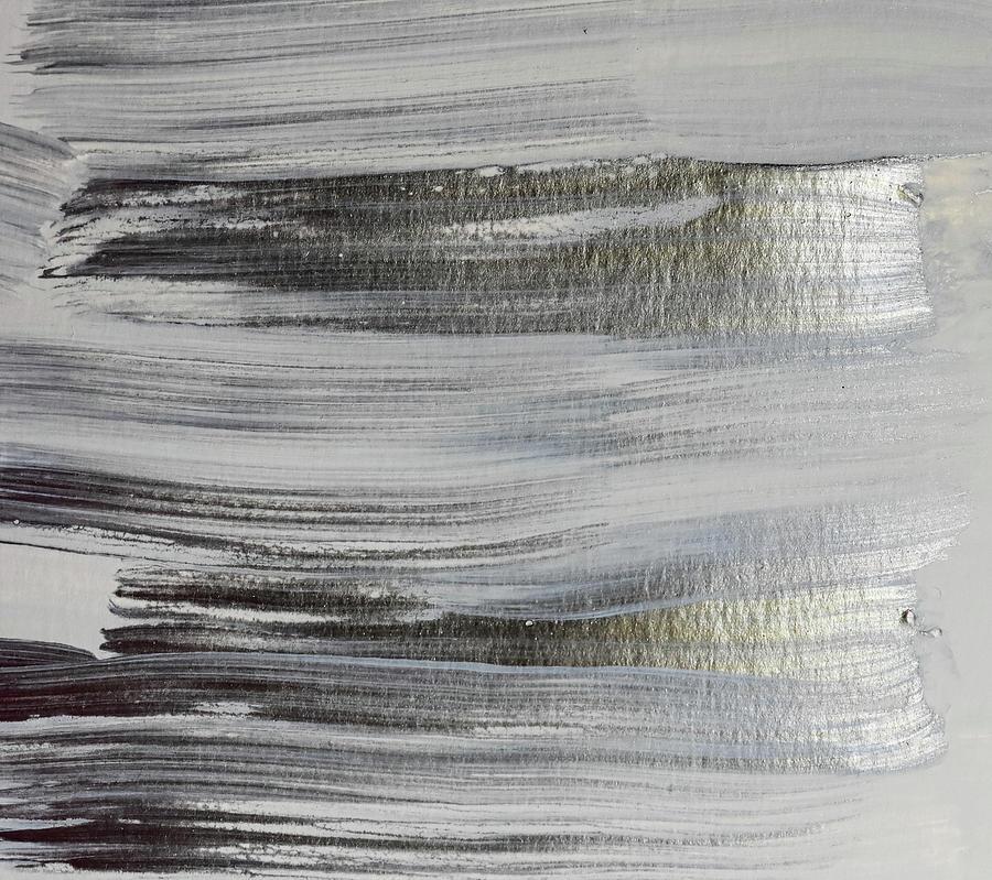Metallic Abstract Painting 5 Texture Minimalism