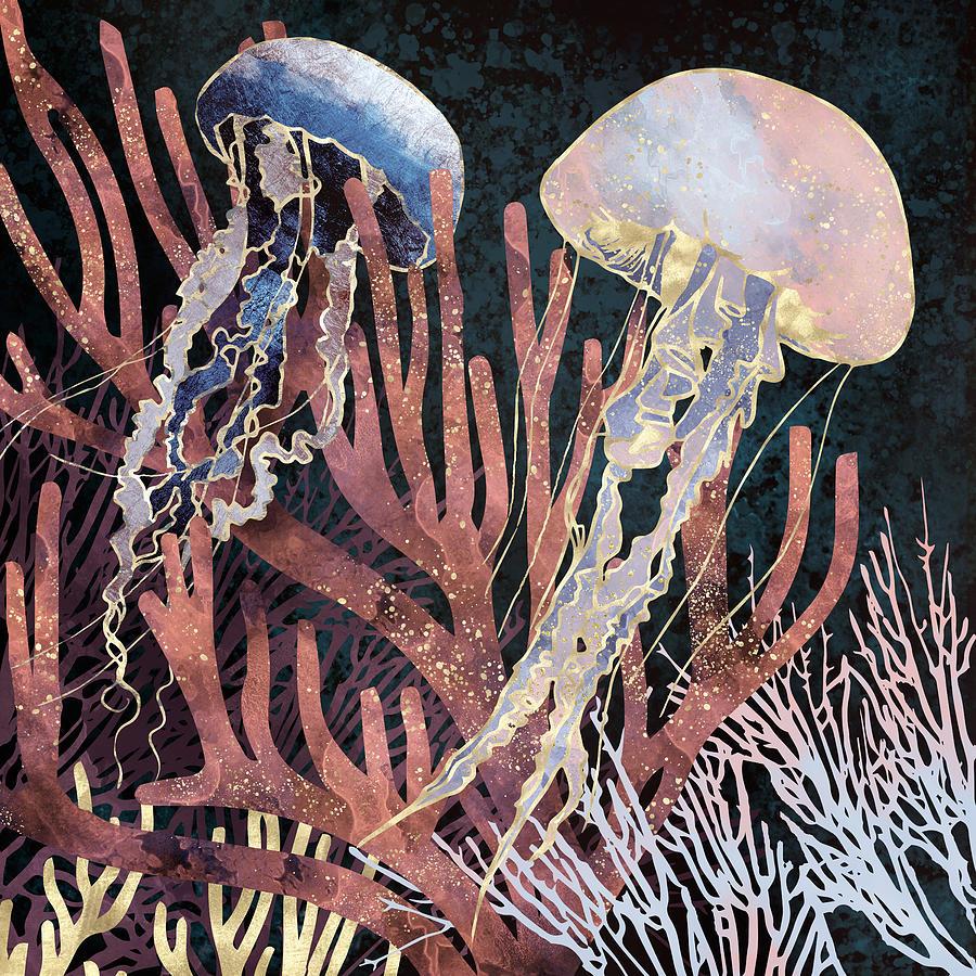 Metallic Coral by Spacefrog Designs