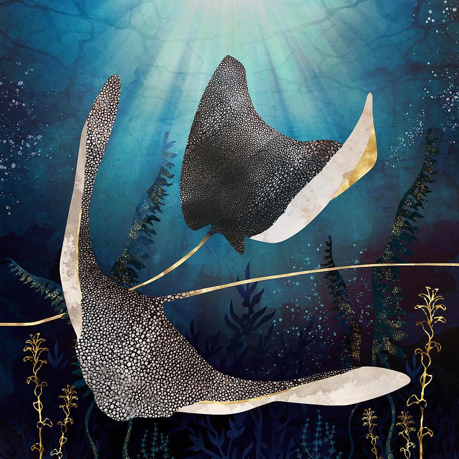 Metallic Stingray by Spacefrog Designs