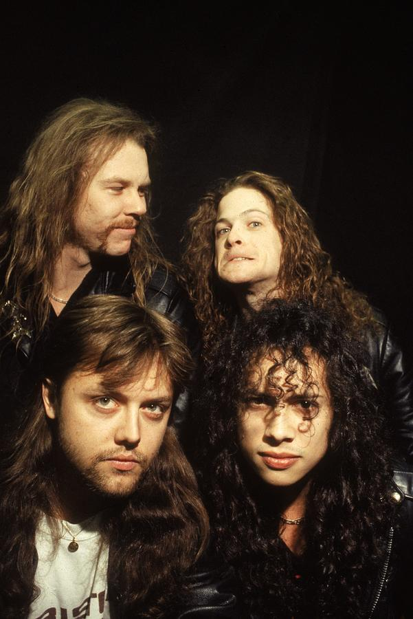 Metallica Photograph by Hulton Archive