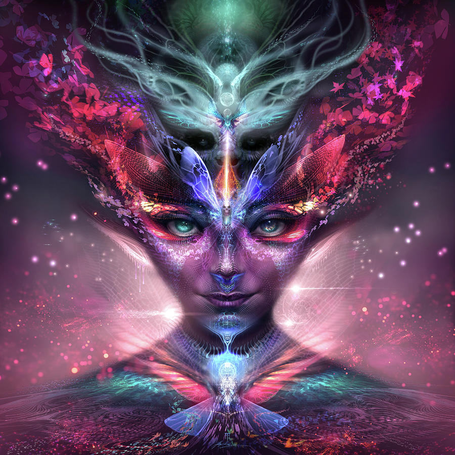 Dreams Digital Art - Metamorphoses by Alex Ruiz