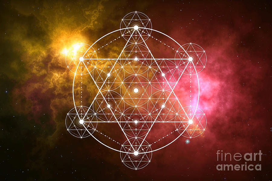 Metatron Sacred Geometry by Nathalie DAOUT
