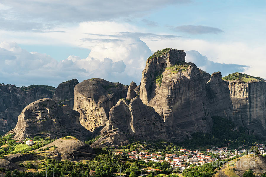 Meteora mountain in Greece by Didier Marti
