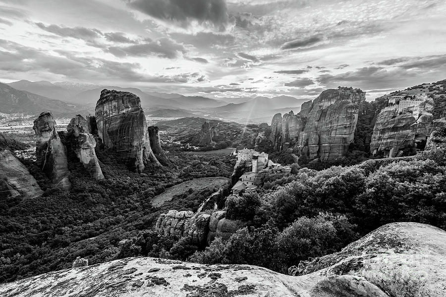 Meteora view in Greece by Didier Marti